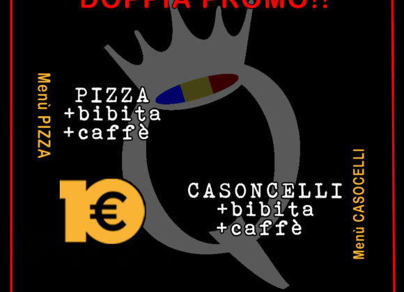 Menu Pizza / Casoncelli