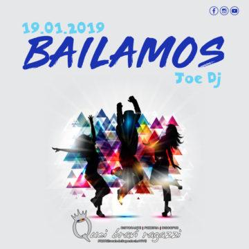Bailamos al QBR – 19 Gennaio