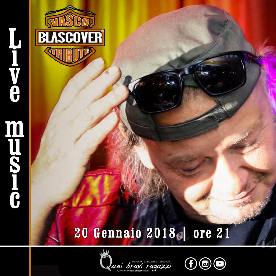 Blascover tributo a Vasco Rossi – 20 Gennaio