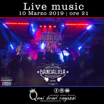Bandaliga tributo LIGABUE – 10 Marzo