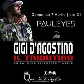 Tributo a Gigi D'Agostino – 7 Aprile