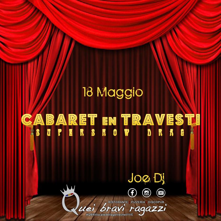 Cabaret en travesti – 18 Maggio