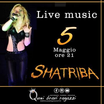 Shatriba LIVE tributo a Shakira – 5 Maggio