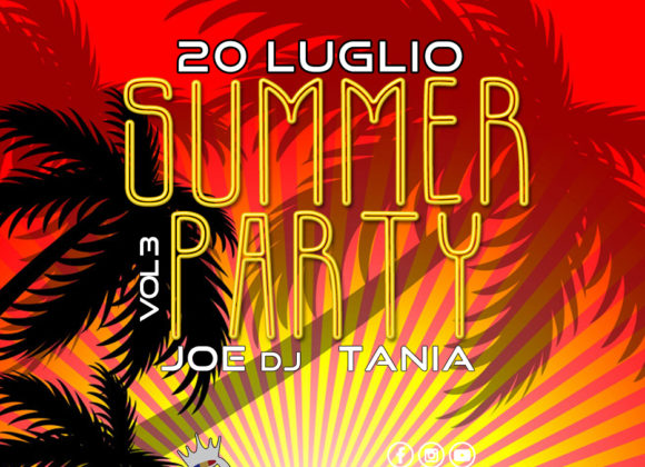 SUMMER PARTY VOL.3 – 20 LUGLIO