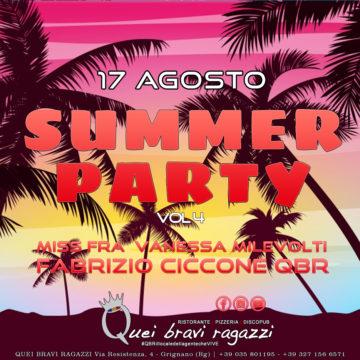 Summer Night – 17 Agosto