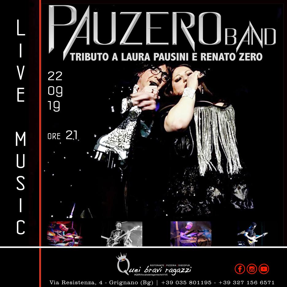 PAUZERO BAND – 22 SETTEMBRE